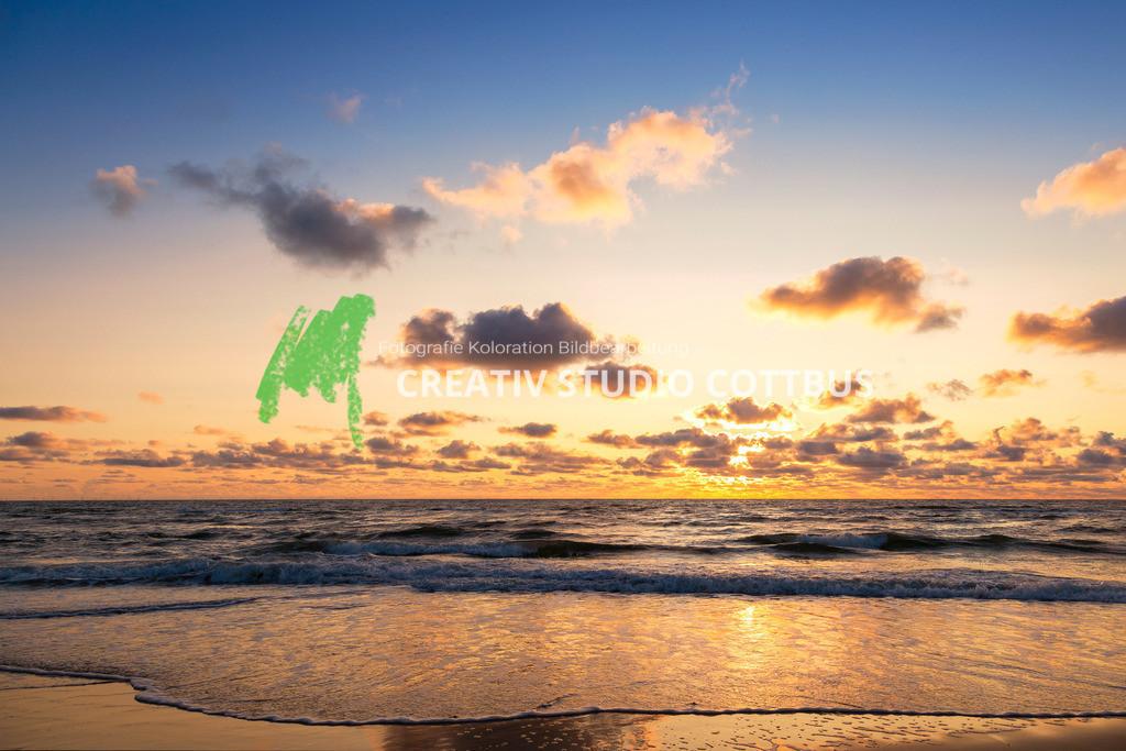 Sonnenuntergang   Sonnenuntergang an der Nordsee in Dänemark
