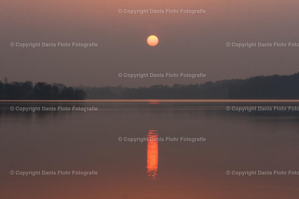 Eutiner See im Abendlicht | Großer Eutiner See im Abendlicht