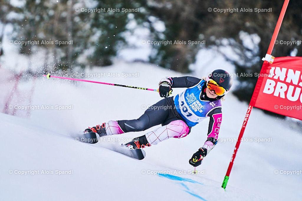 ALS5828_WWMG_GS-II_C | (C) FotoLois.com, Alois Spandl, WinterWorldMastersGames 2020 Innsbruck, Giant Slalom-II Gruppe C Damen, Patscherkofel Olympiaabfahrt, Mi 15. Jänner 2020.