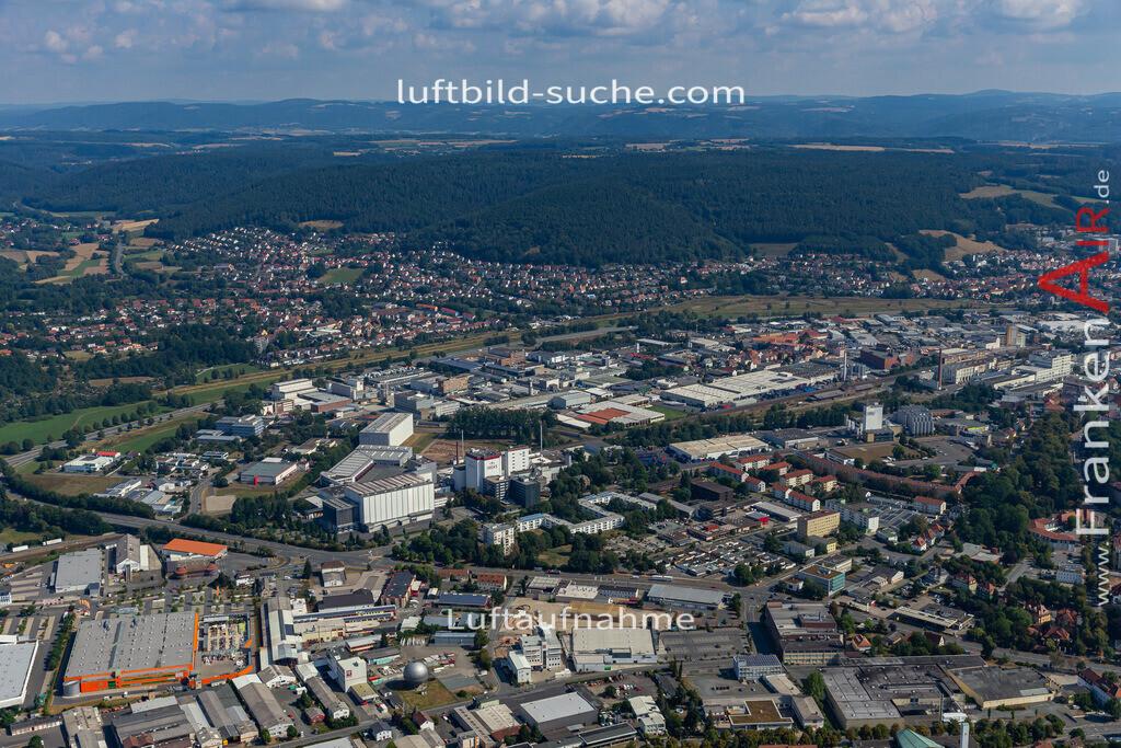 gewerbegebiet-kulmbach-19-668 | aktuelles Luftbild von Gewerbegebiet  Kulmbach - Luftaufnahme wurde 2019 von https://frankenair.de mittels Flugzeug (keine Drohne) erstellt.