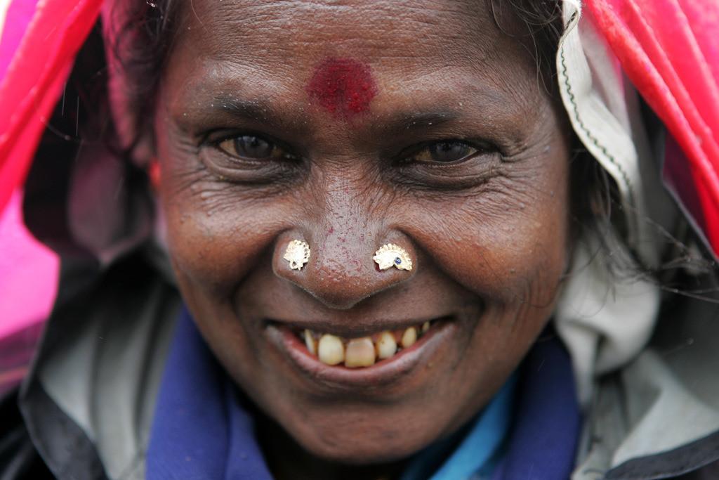 Teeanbau   Sri Lanka, Frau, Teepflückerin