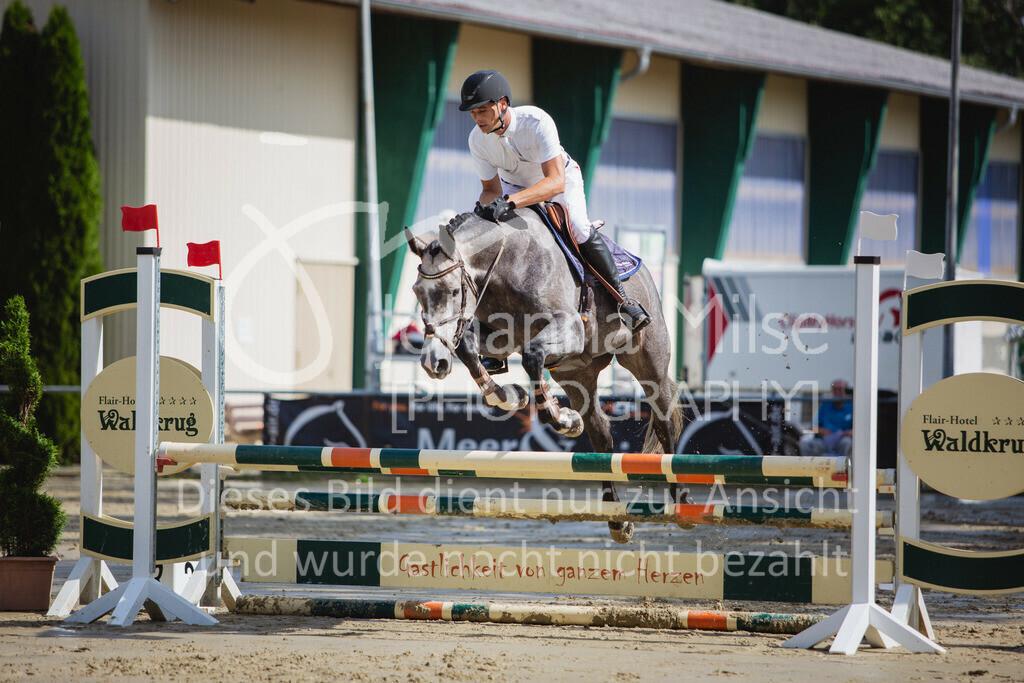 200819_Delbrück_Sprpf-A_1_2-043   Delbrück Masters 2020 Springpferdeprüfung Kl. A* 4jährige Pferde
