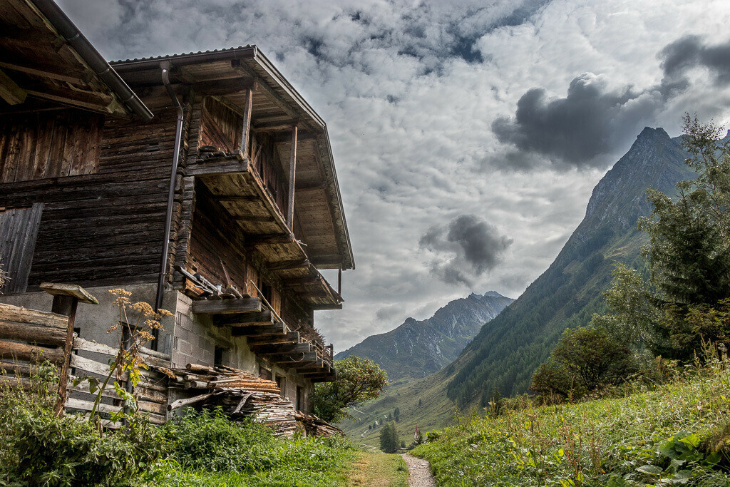 Bauernhof im Ahrntal in Südtirol