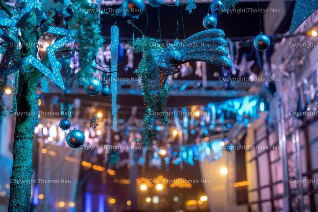 DSC_4020 | ble,Lorsch, blaues Weihnachtswunder, Innenstadt, ,, Bild: Thomas Neu