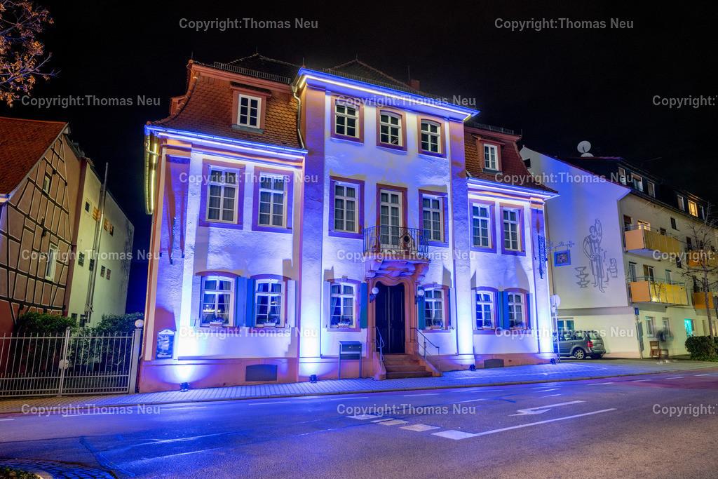 DSC_4238 | ble,Lorsch, blaues Weihnachtswunder, Innenstadt, ,, Bild: Thomas Neu