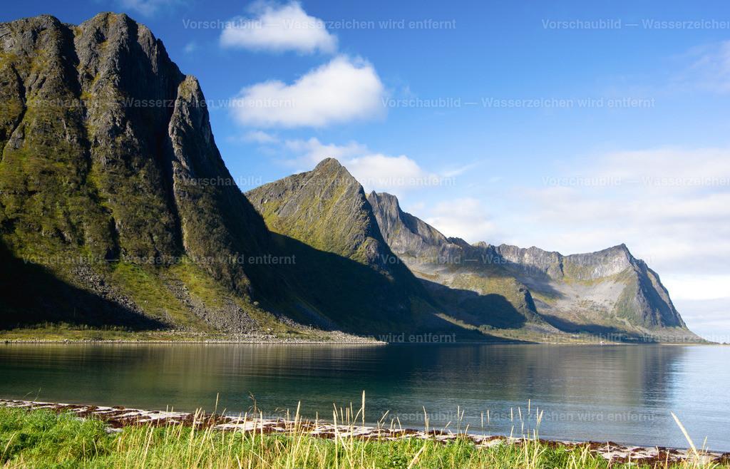 Bucht auf der Insel Senja | in Nord Norwegen
