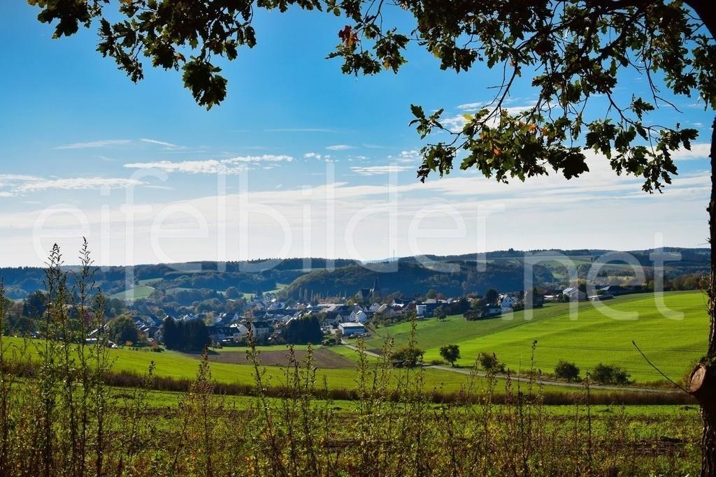 Blick auf Gillenfeld | Gillenfeld im Herbst