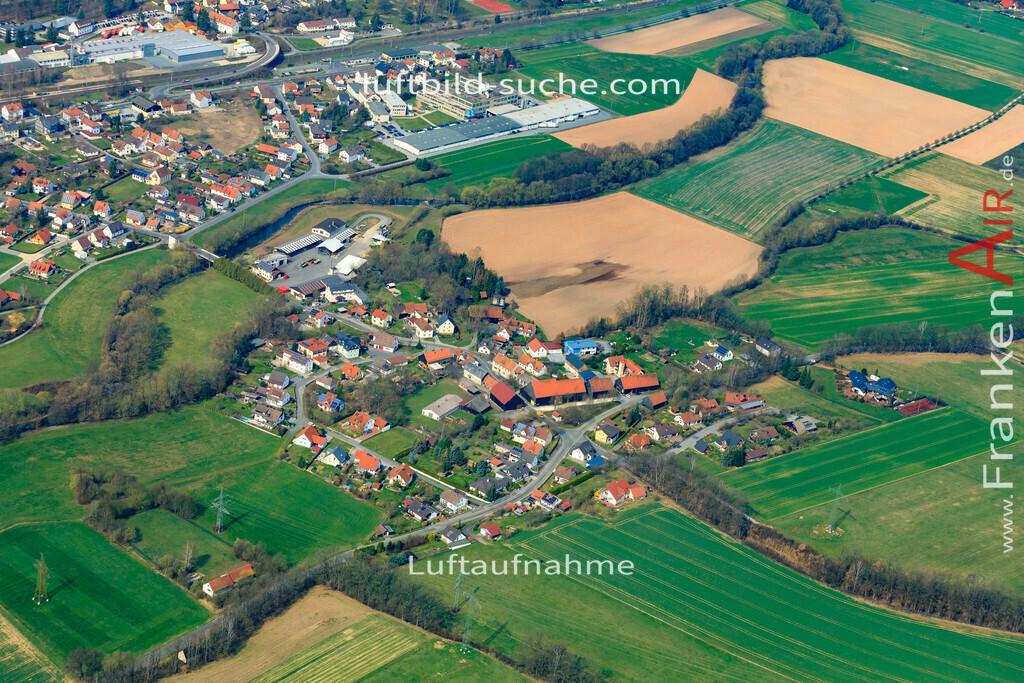 wolfersdorf-19-897 | aktuelles Luftbild von  Wolfersdorf  - Luftaufnahme wurde 2019 von https://frankenair.de mittels Flugzeug (keine Drohne) erstellt.