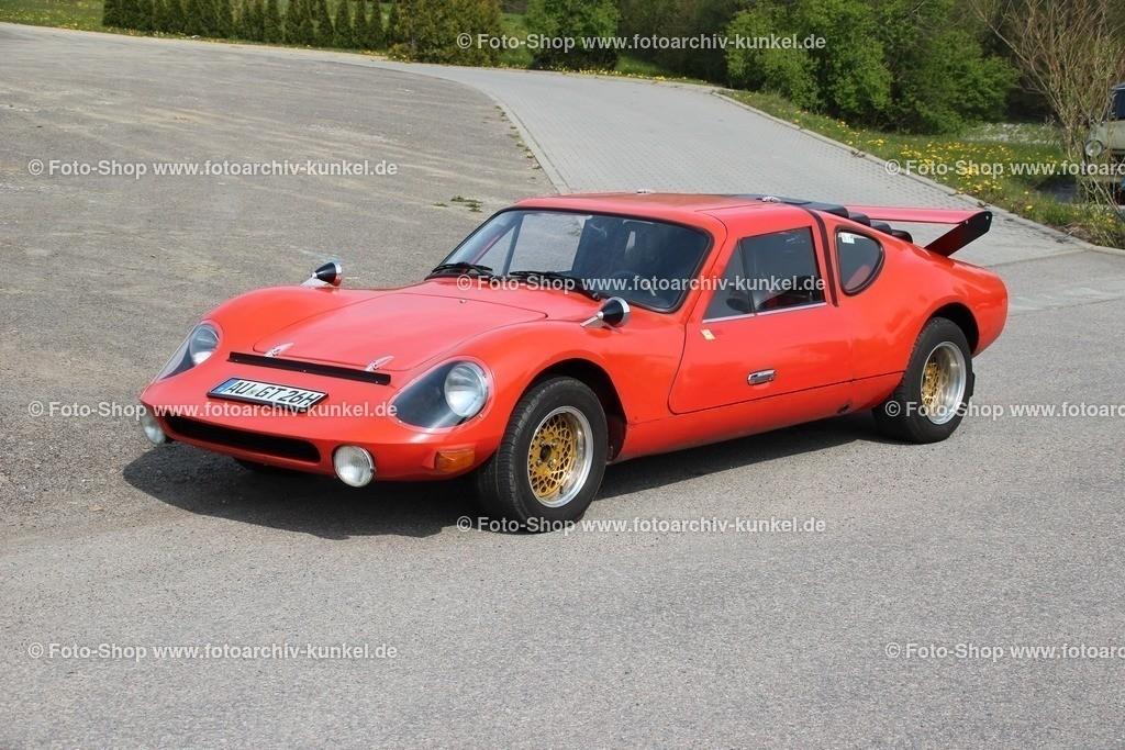 Melkus RS 1000 Coupé 2 Flügeltüren, 1969-79   Melkus RS 1000 Coupé 2 Flügeltüren, Farbe: Rot, Bauzeit 1969-79, DDR