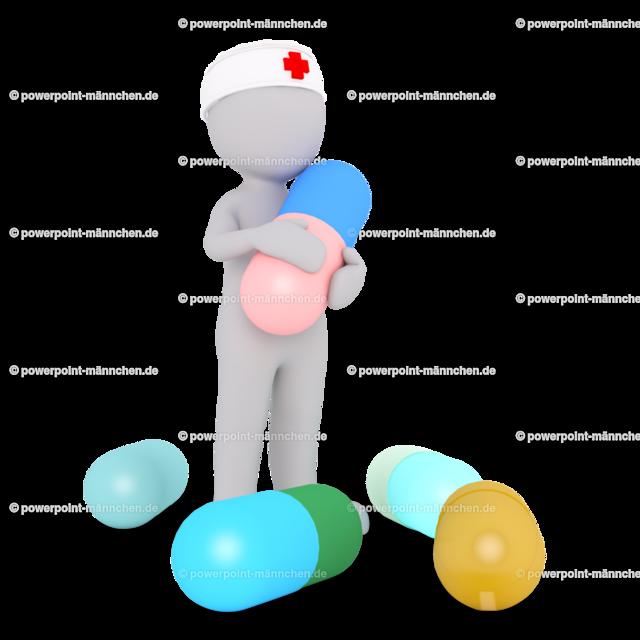 the nurse is giving medicine pills | Quelle: https://3dman.eu   Jetzt 250 Bilder kostenlos sichern