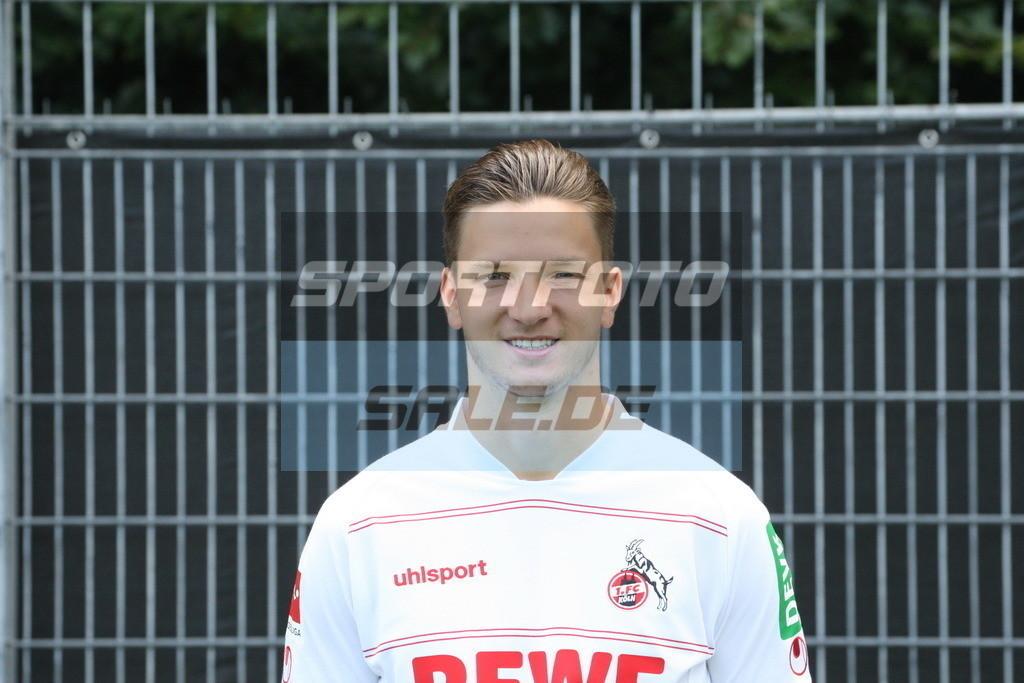 1. FC Köln Fotoshooting   Noah Katterbach - © Sportfoto-Sale (MK)