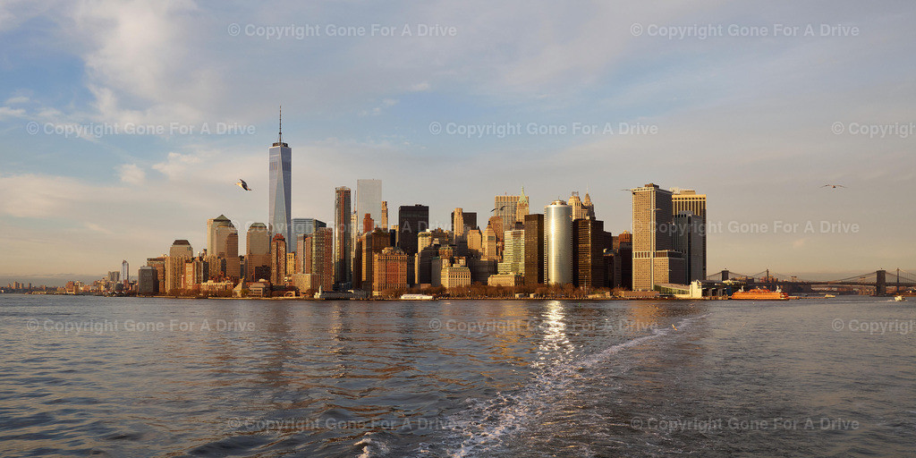 USA | New York City, Lower Manhattan Skyline