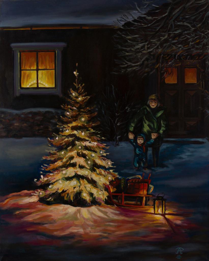 Weihnachtszeit | Originalformat: 55x72cm  -  Produktionsjahr: 2002