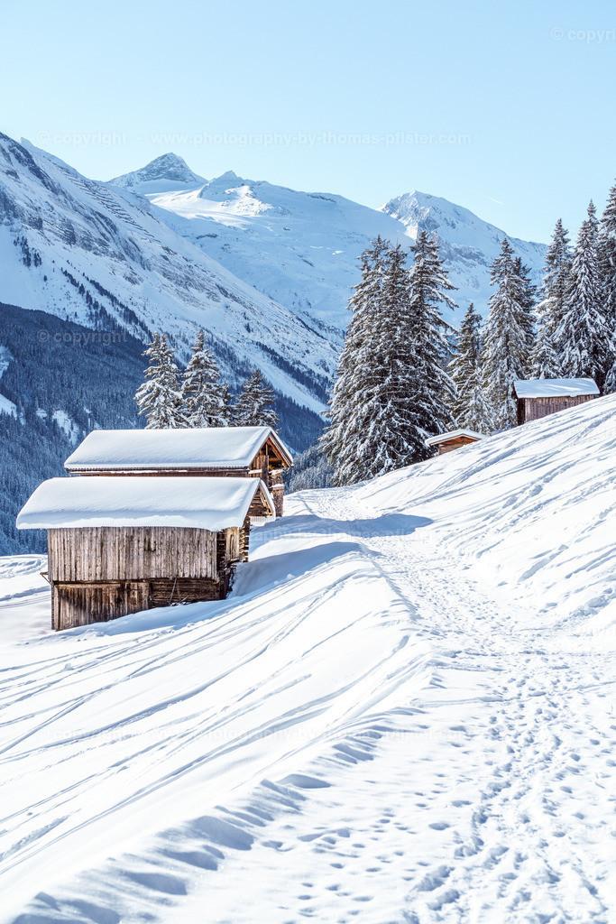 Winterwandern in Tux Richtung Lattenalm Gemais