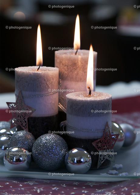 3 Kerzen Weihnachten
