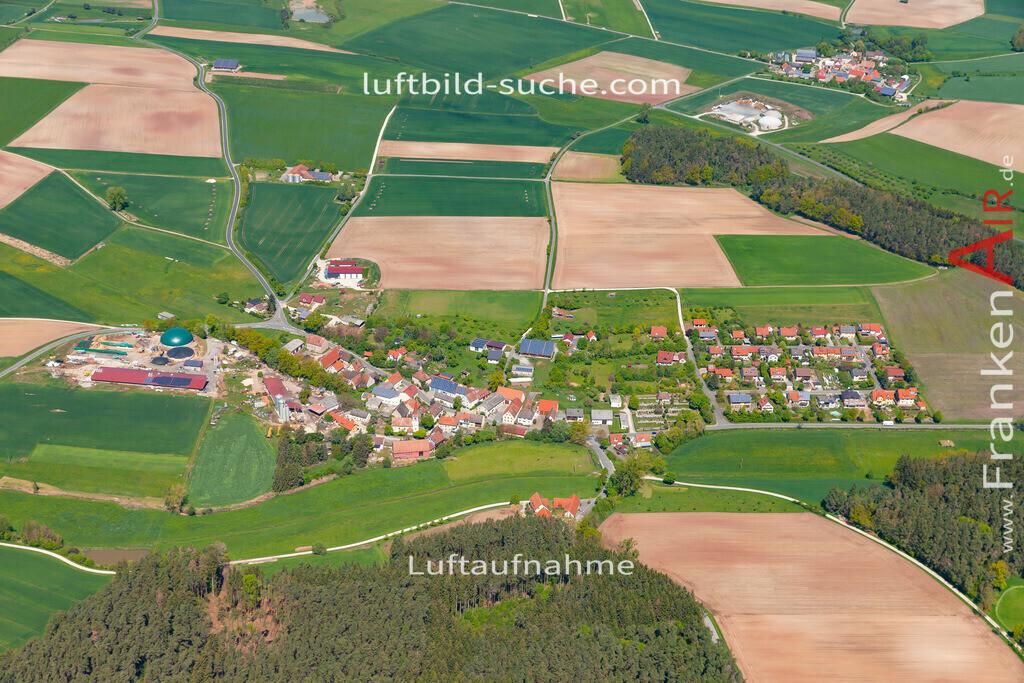 breitenlohe-19-210 | aktuelles Luftbild von  Breitenlohe  - Luftaufnahme wurde 2019 von https://frankenair.de mittels Flugzeug (keine Drohne) erstellt.