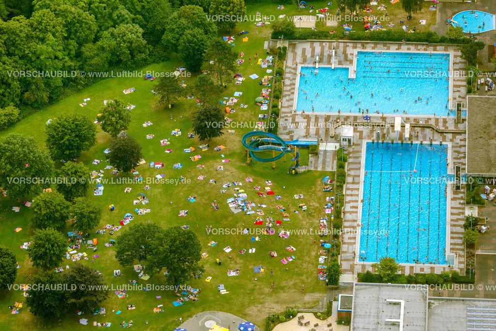 Haltern13081691 | Freibad Haltern Aquarell, Luftbild von Haltern am See