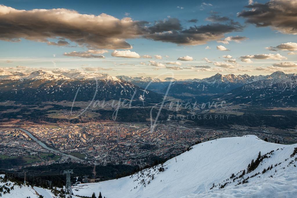 Nordkette | Frühling im Tal, Winter am Berg