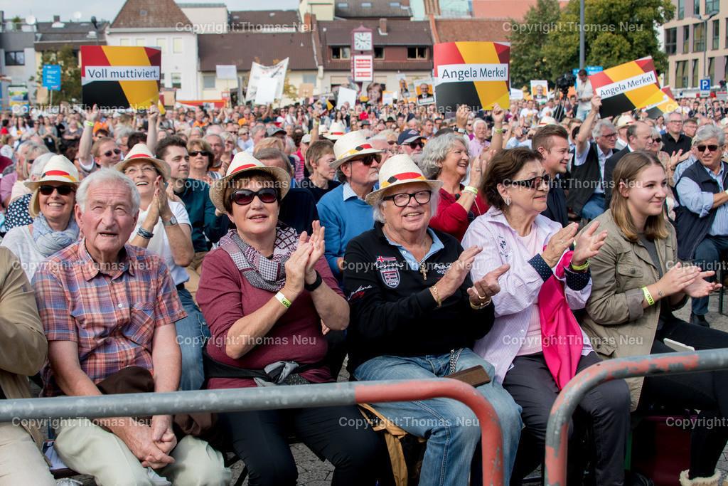 DSC_7864 | Heppenheim, Wahlveranstaltung, CDU, Angela Merkel auf dem parkhof, , ,, Bild: Thomas Neu