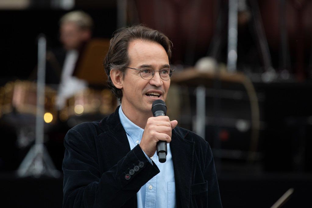 200 Jahre Konzerthaus Berlin   Indendant des Konzerthauses Prof. Dr. Sebastian Nordmann