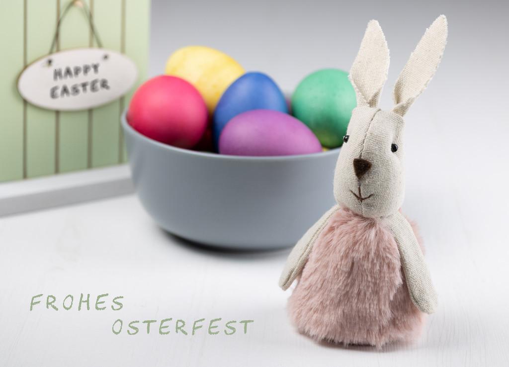 Frohes Osterfest   Grußkarte zum Osterfest