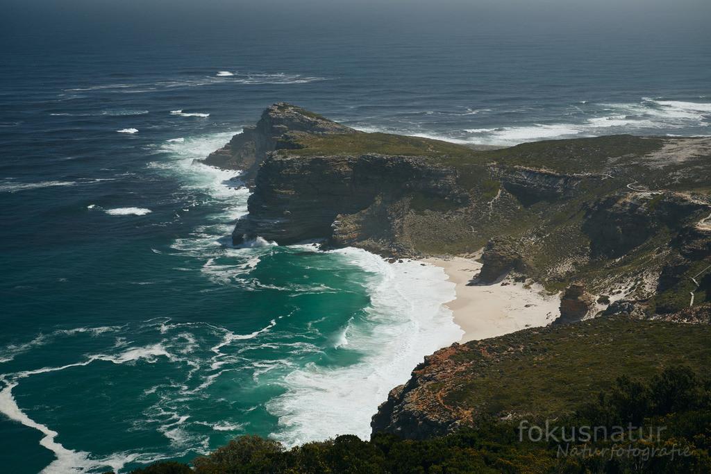 Das Kap der Guten Hoffnung | Das Kap ragt weit in den Atlantik.