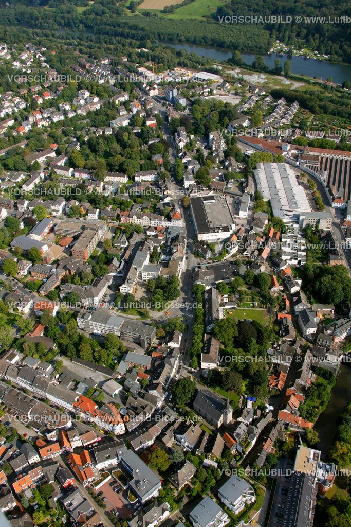 KT10094271 | Steinweg, Kettwig, Ruhr, Luftbild,  Essen, Ruhrgebiet, Nordrhein-Westfalen, Germany, Europa, Foto: hans@blossey.eu, 05.09.2010