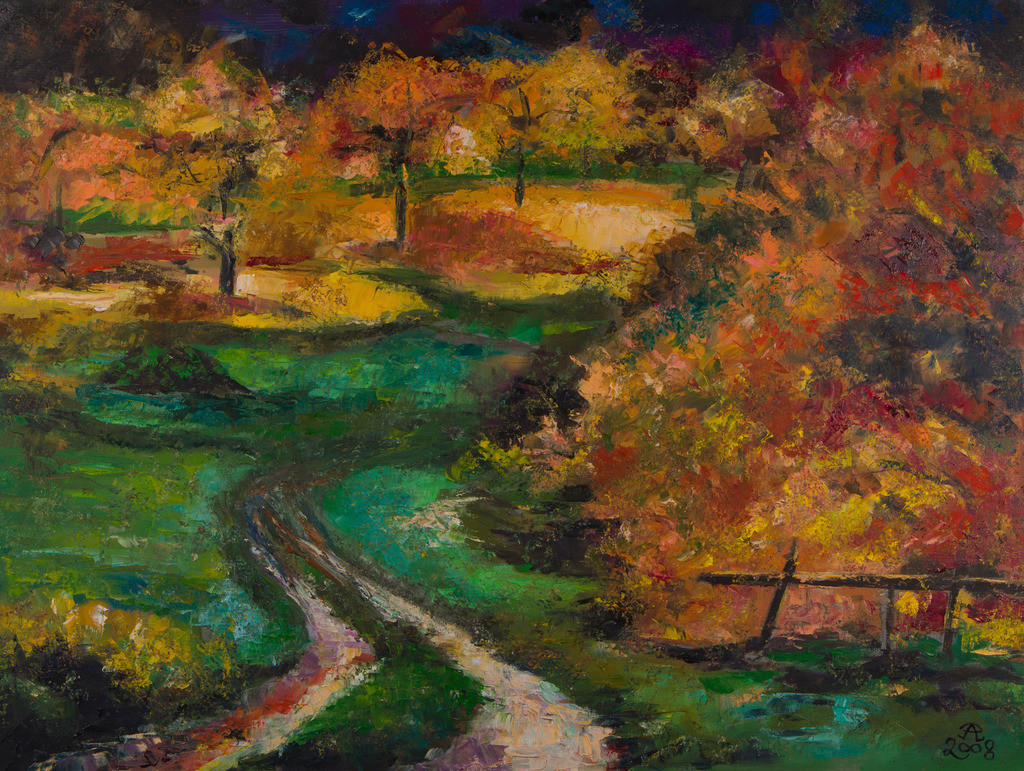Herbstpfade | Originalformat: 60x80cm  -   Produktionsjahr: 2008