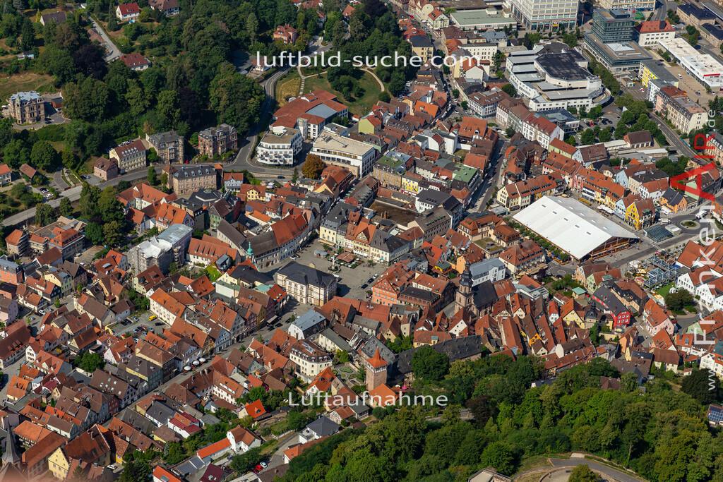 bierfest-2019-kulmbach-19-689 | aktuelles Luftbild von Bierfest-2019  Kulmbach - Luftaufnahme wurde 2019 von https://frankenair.de mittels Flugzeug (keine Drohne) erstellt.