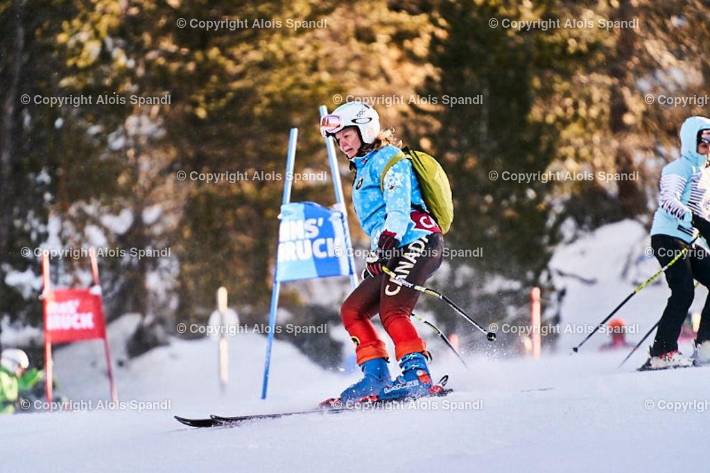 ALS6079_WWMG_GS-II_B_Besichtigung   (C) FotoLois.com, Alois Spandl, WinterWorldMastersGames 2020 Innsbruck, Giant Slalom-II Gruppe C Damen, Patscherkofel Olympiaabfahrt, Mi 15. Jänner 2020.