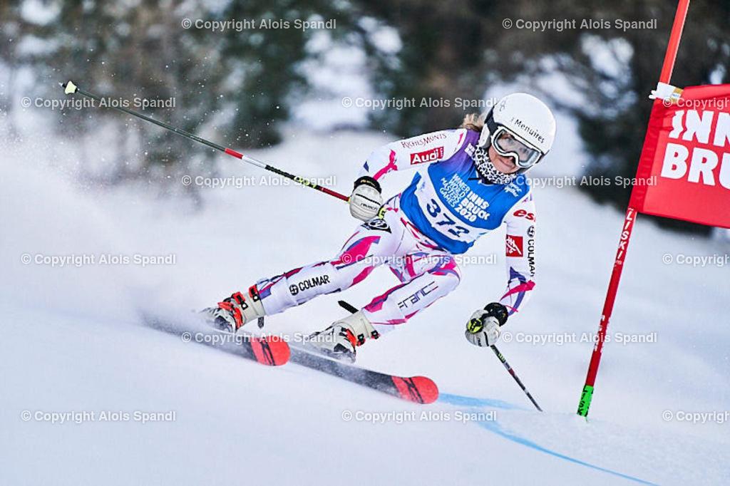 ALS5517_WWMG_GS-II_C | (C) FotoLois.com, Alois Spandl, WinterWorldMastersGames 2020 Innsbruck, Giant Slalom-II Gruppe C Damen, Patscherkofel Olympiaabfahrt, Mi 15. Jänner 2020.