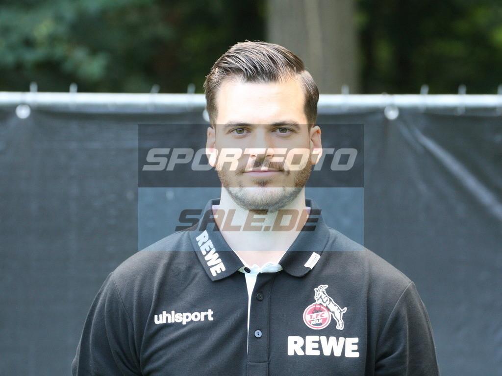 1. FC Köln Fotoshooting   Max Weuthen - © Sportfoto-Sale (MK)
