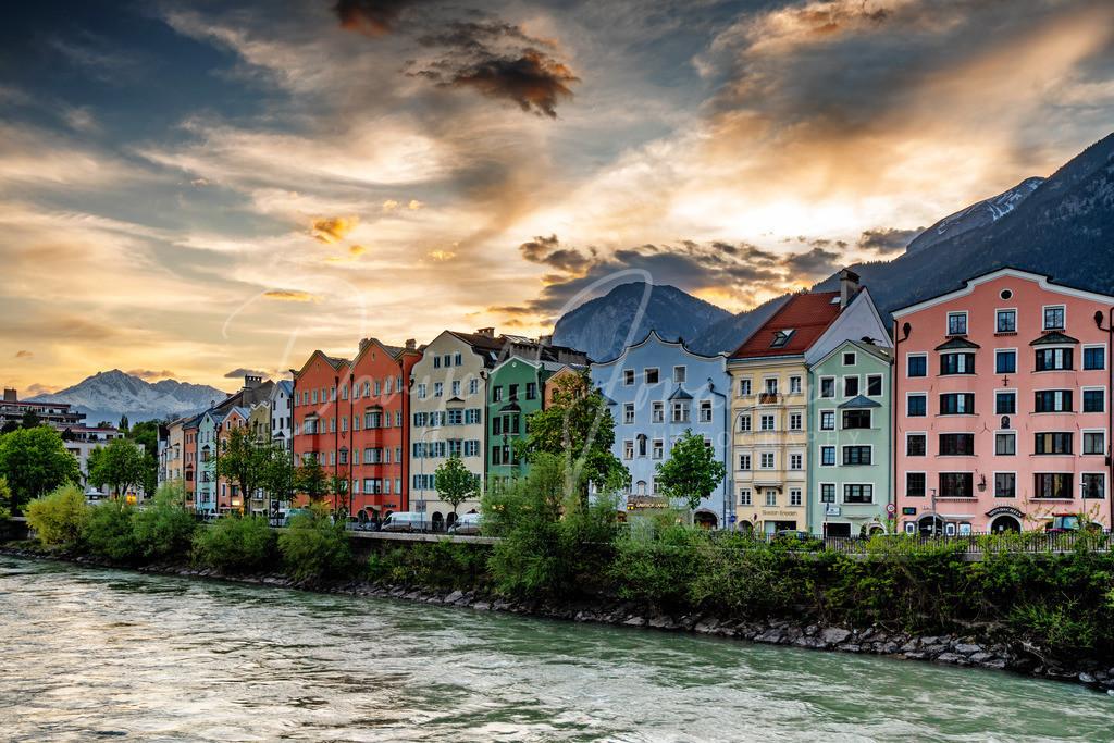 Abendstimmung | Abendstimmung in Innsbruck