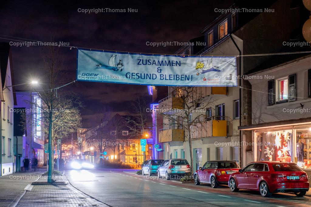 DSC_4258   ble,Lorsch, blaues Weihnachtswunder, Innenstadt, ,, Bild: Thomas Neu