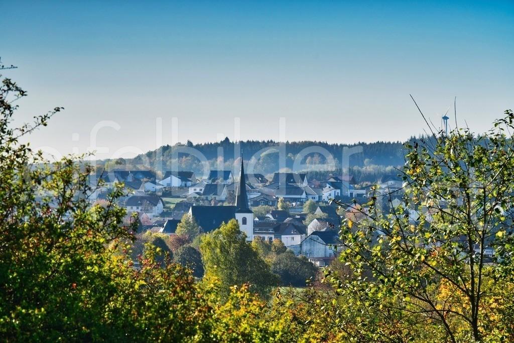 Blick auf Strohn | Eifel, Vulkaneifel