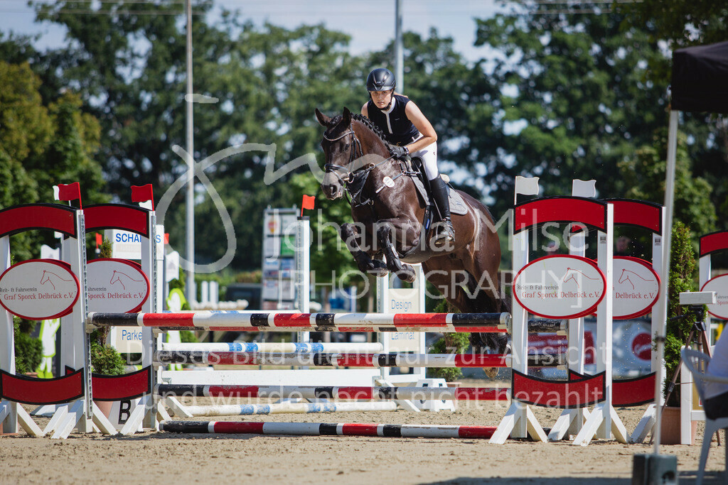 200819_Delbrück_Sprpf-A_2_1-257 | Delbrück Masters 2020 Springpferdeprüfung Kl. A** 4-6jährige Pferde