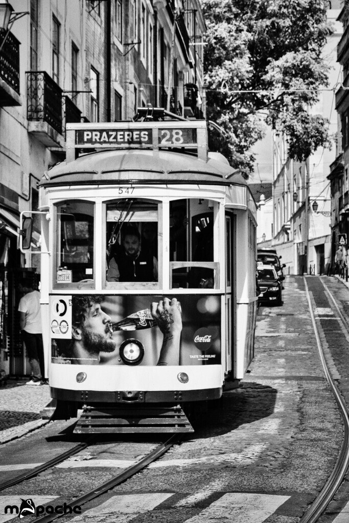 Tram 28 | The famous Tram 28 in Losbon, Portugal.