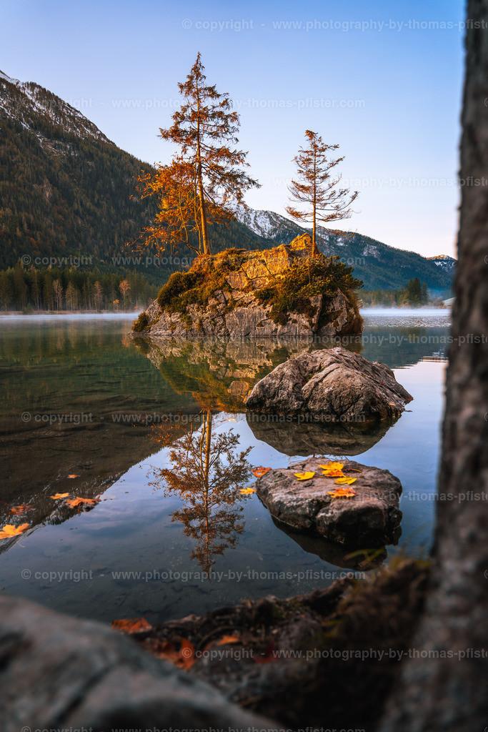 Hintersee in Berchtesgaden Herbst