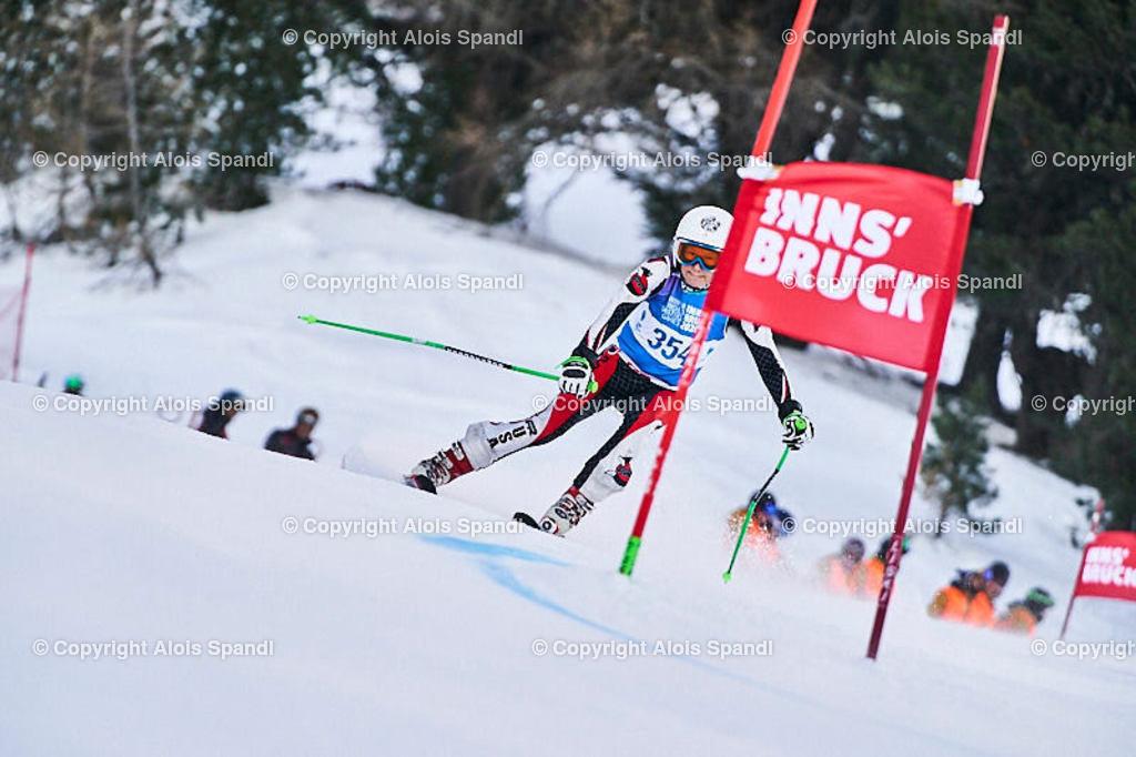 ALS5432_WWMG_GS-II_C | (C) FotoLois.com, Alois Spandl, WinterWorldMastersGames 2020 Innsbruck, Giant Slalom-II Gruppe C Damen, Patscherkofel Olympiaabfahrt, Mi 15. Jänner 2020.