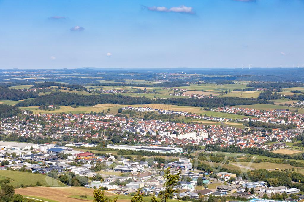 Aalen Industriegebiet und 'Weststadt'