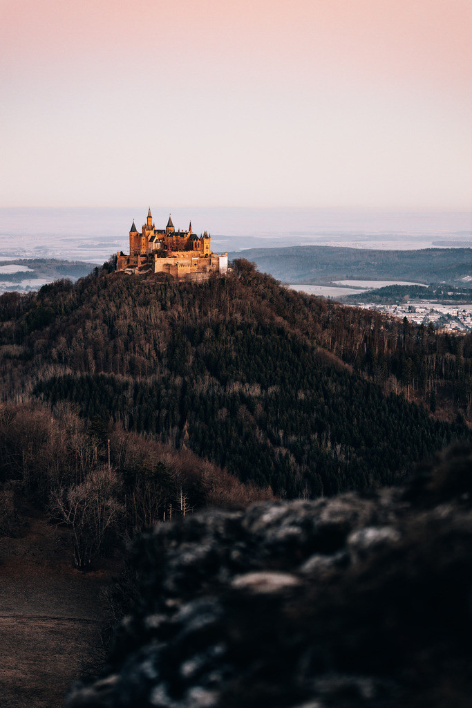 Hohenzollern sunrise