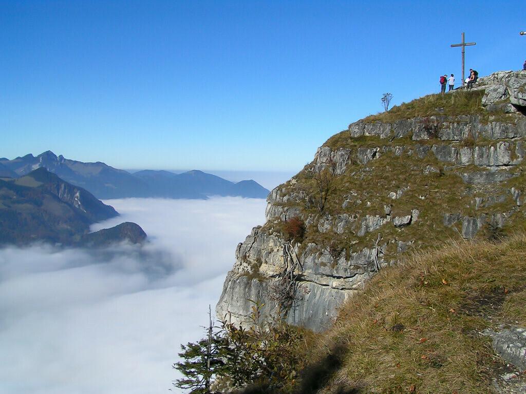 Das Kranzhorn mit Blick auf das Inntal | MINOLTA DIGITAL CAMERA