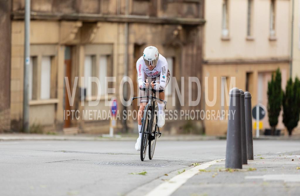 81st Skoda-Tour de Luxembourg 2021   81st Skoda-Tour de Luxembourg 2021, Stage 4 ITT Dudelange - Dudelange; Dudelange, 17.09.2021: VENDRAME Andrea (AG2R Citroën Team, 16)