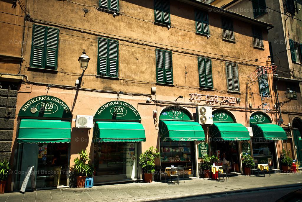 Fassade in Genua