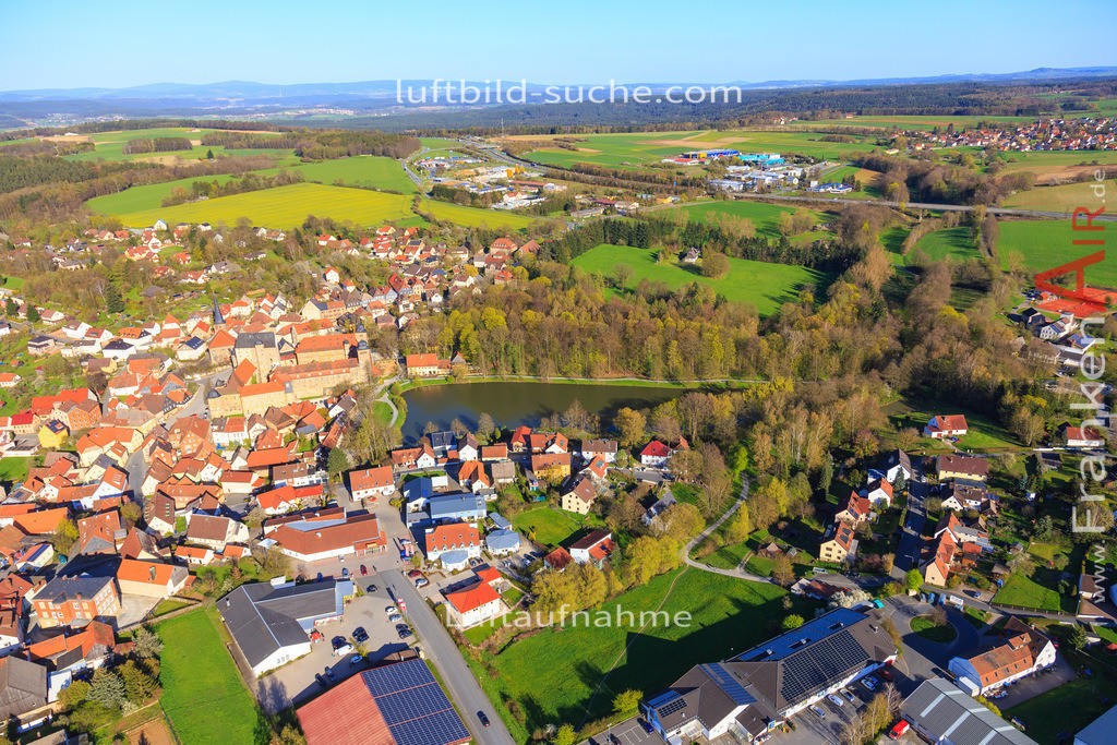 thurnau-2016-3267 | Luftbild von  Thurnau - Luftaufnahme wurde 2016 von https://frankenair.de mittels Flugzeug (keine Drohne) erstellt - die Geschenkidee