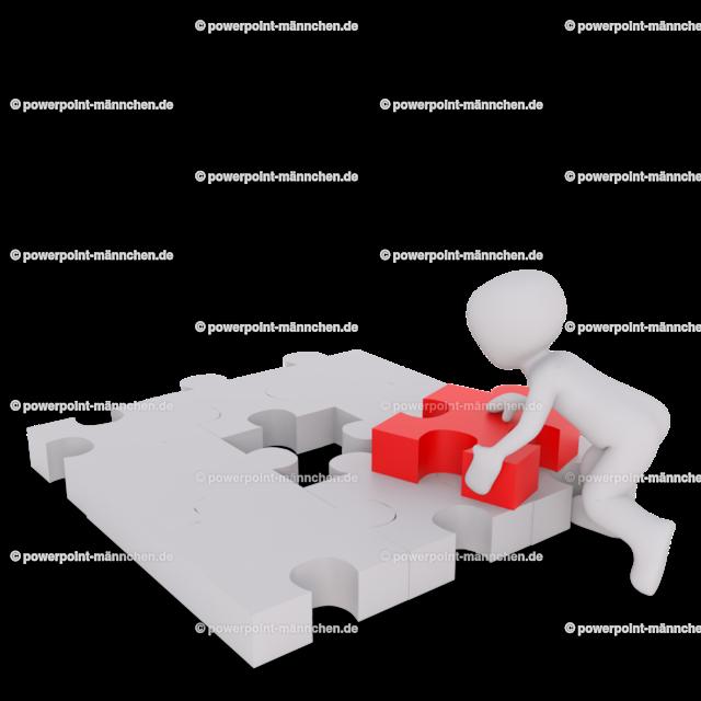 man fixing a puzzle | https://3dman.eu jetzt 250 Bilder gratis sichern