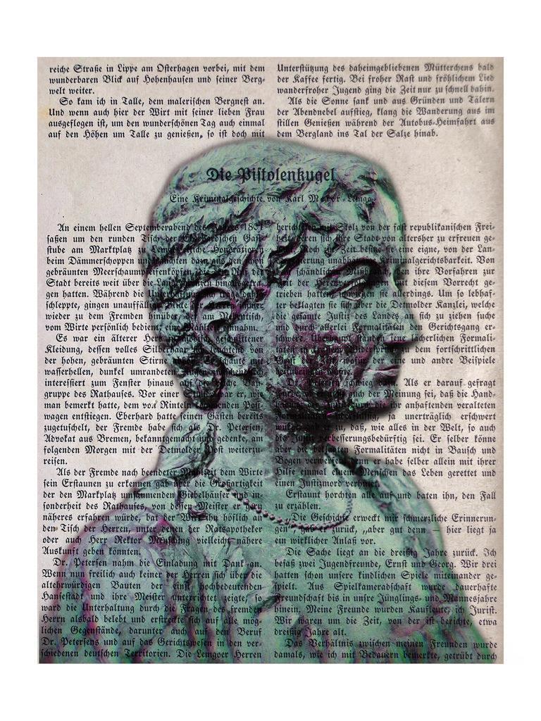 Pauline | Fürstin Pauline zu Lippe auf Frakturschrift Buchseite