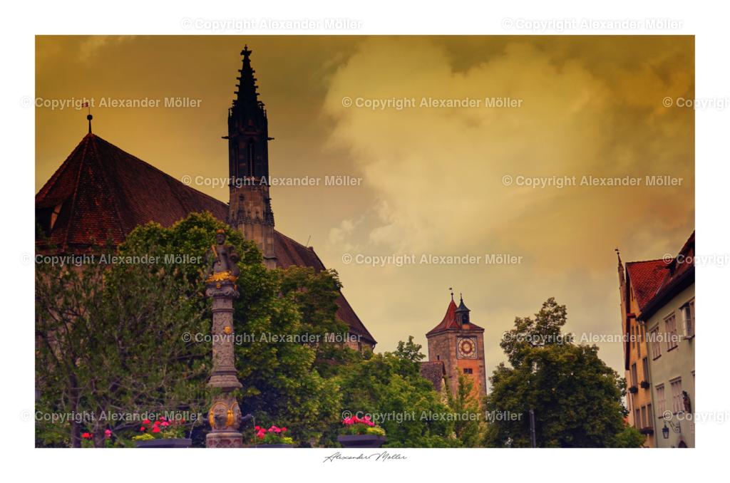 Rothenburg ob der Tauber No.103 (3-2)