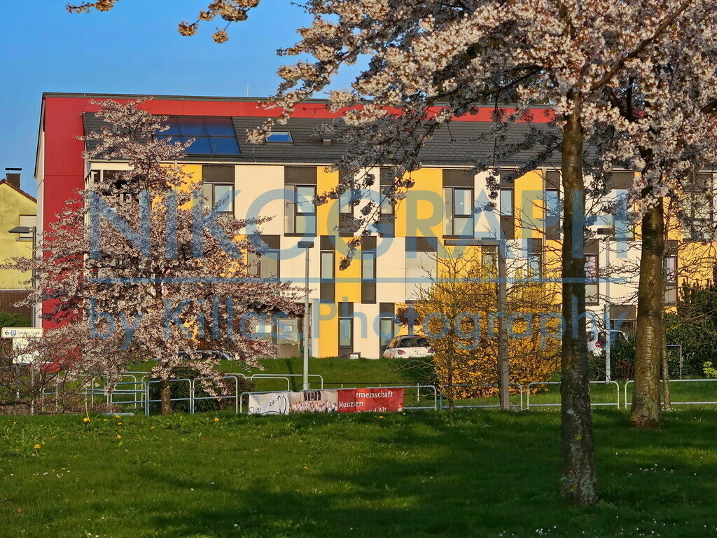 Hemers bunte Fassade | Eine farbenfrohe Fassade in Hemer.