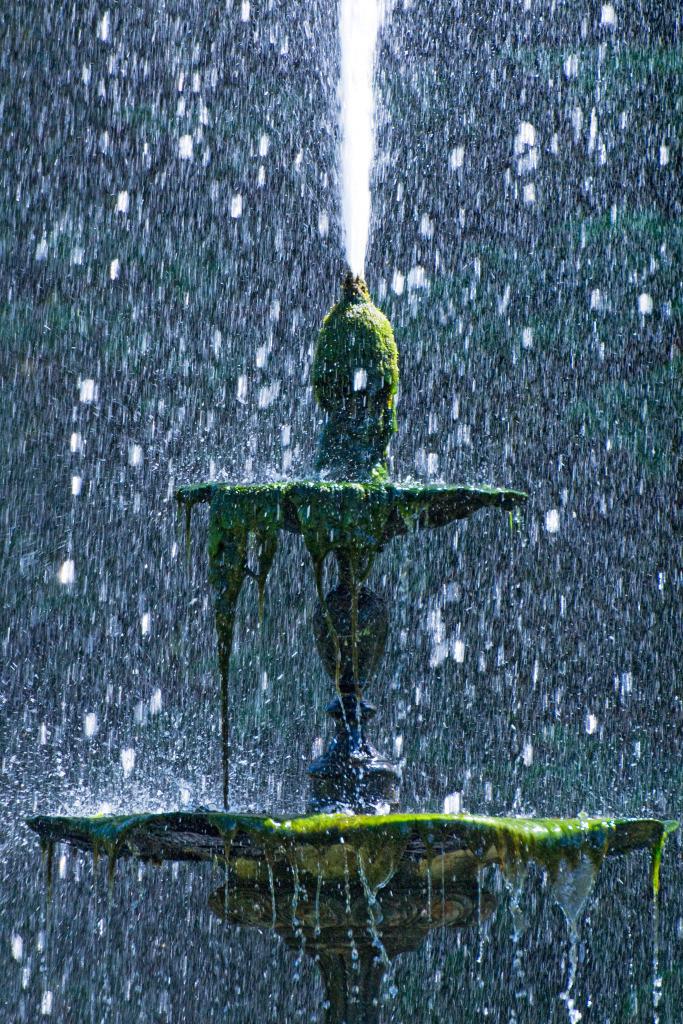 Erfolg 05 |  Springbrunnen Powerscourt Gardens, Wicklow, Irland